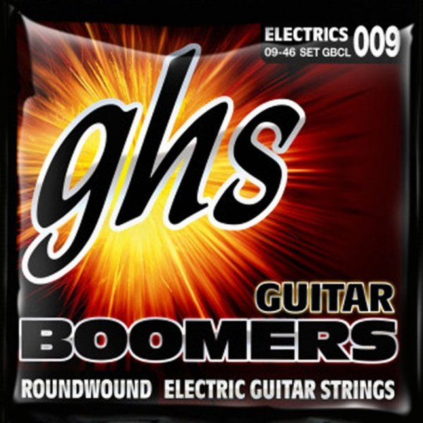 Struny GHS Boomers Roundwound (09-46)