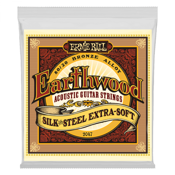 Struny ERNIE BALL 2047 Silk & Steel (10-50)