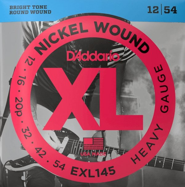 Struny D'ADDARIO XL Nickel Wound EXL145 (12-54)
