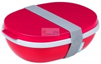 Lunchbox Ellipse Duo Nordic Red czerwony Rosti Mepal