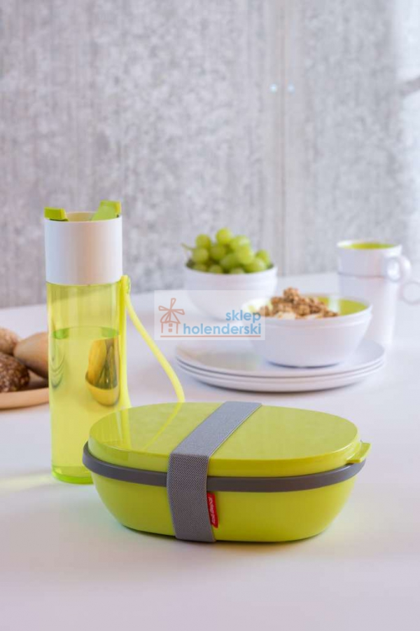 Lunchbox Ellipse Duo Nordic Green zielony Rosti Mepal sklepholenderski.pl zdj.2
