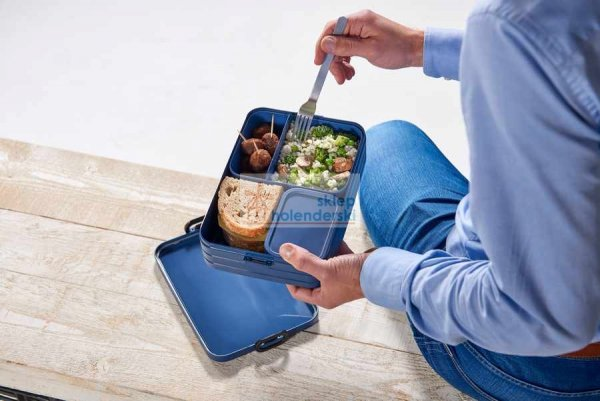 Lunchbox duży Bento box różowy Nordic Pink mepal