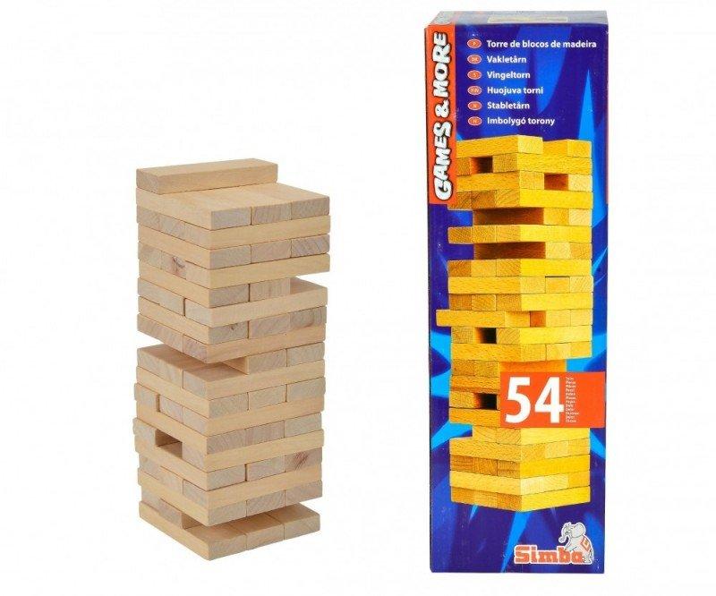 Gra Chwiejąca Wieża