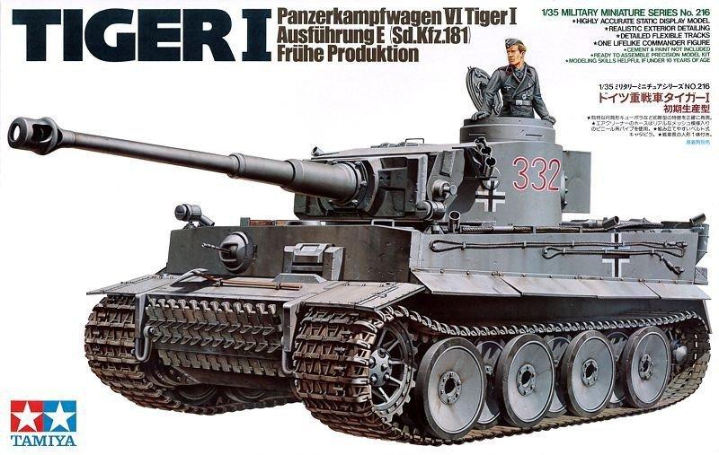 Tamiya German Tiger I Early Production