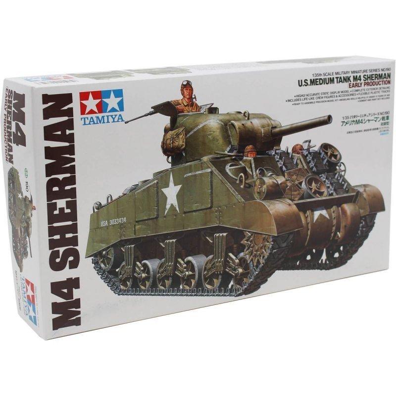Tamiya U.S. Medium Tank M4 Sherman