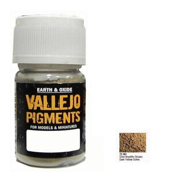 Vallejo Pigment Dark Yellow Ocre