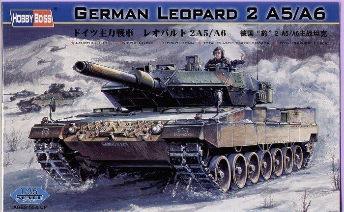 Hobby Boss HOBBY BOSS German Tank L eopard 2 A5/A6