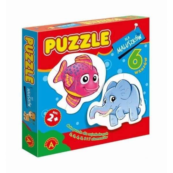Alexander Puzzle dla maluszków Rybka