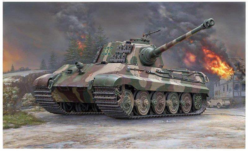 Revell Tiger II Henschel Turret