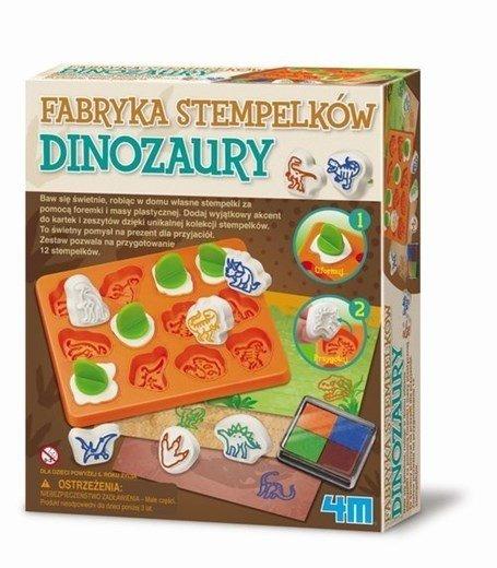 Fabryka stempelków - dinozaury