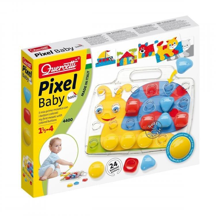 Quercetti Mozaika Pixel Baby Basic 24 elementów