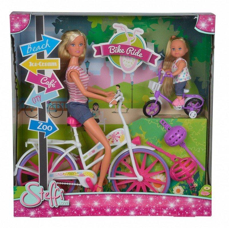 Simba STEFFI Przejażdżka na rowerze