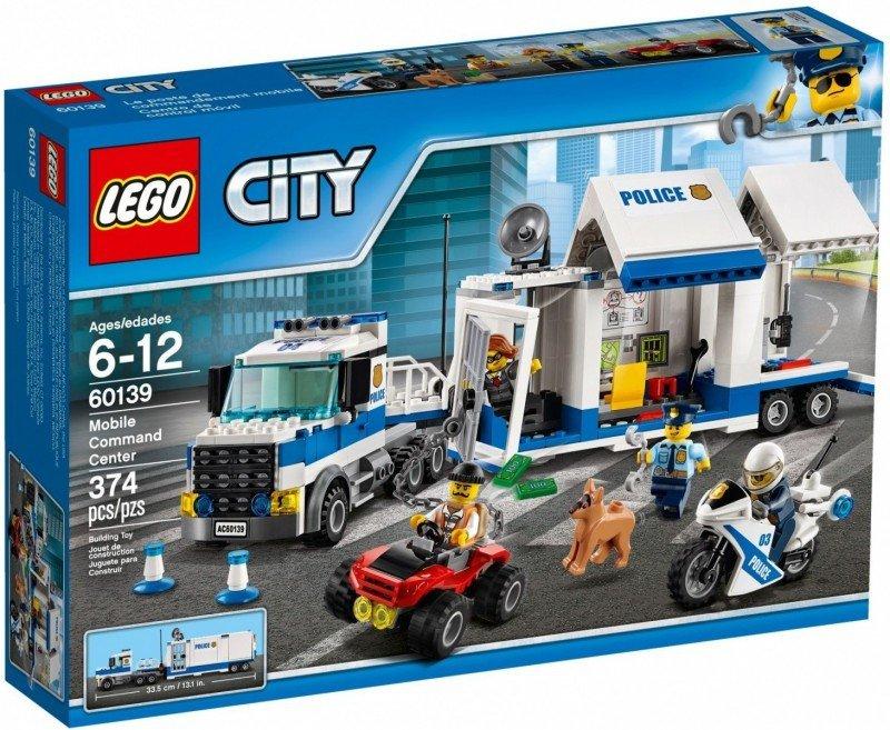 Klocki City 60139 Mobilne centrum dowodzenia