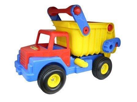 WADER-POLESIE Pojazd Wywrotka Nr1 z gumowymi kołami