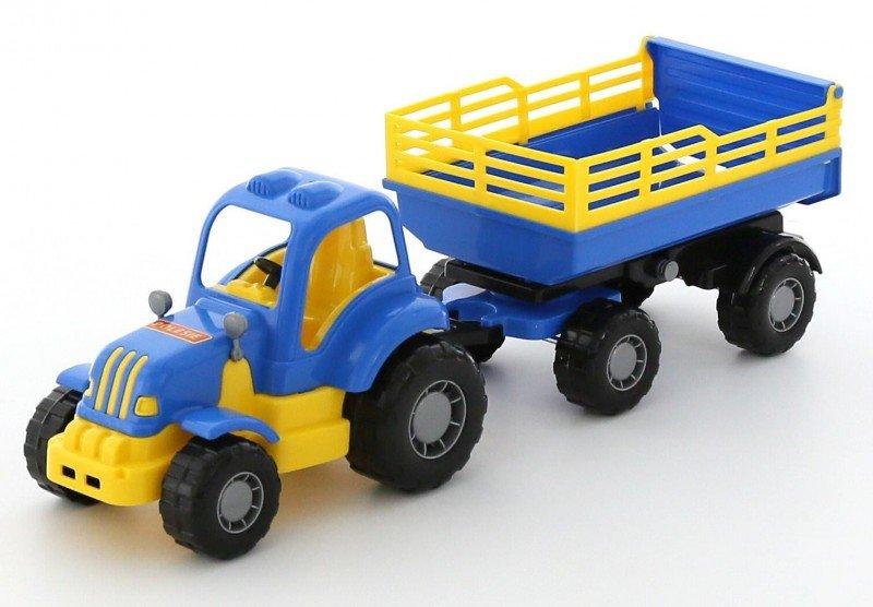 WADER-POLESIE Pojazd Osiłek Traktor z przyczepą Nr2