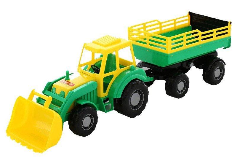 WADER-POLESIE Pojazd Altaj, traktor z przyczepą Nr2 i łyżką