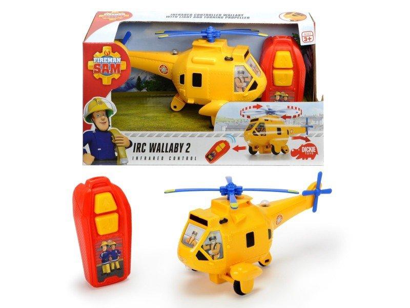 Dickie Helikopter Wallaby 2 na podczerwień Strażak Sam