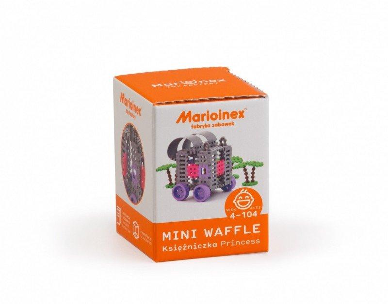 Marioinex Klocki konstrukcyjne Mini Waffle Księżniczka Zestaw Mały