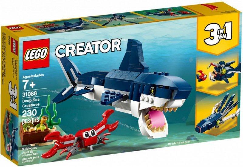 LEGO Klocki Creator Morskie stworzenia