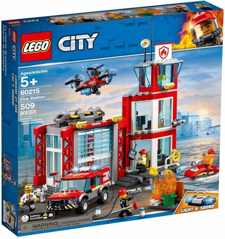 LEGO Klocki City 60215 Remiza strażacka