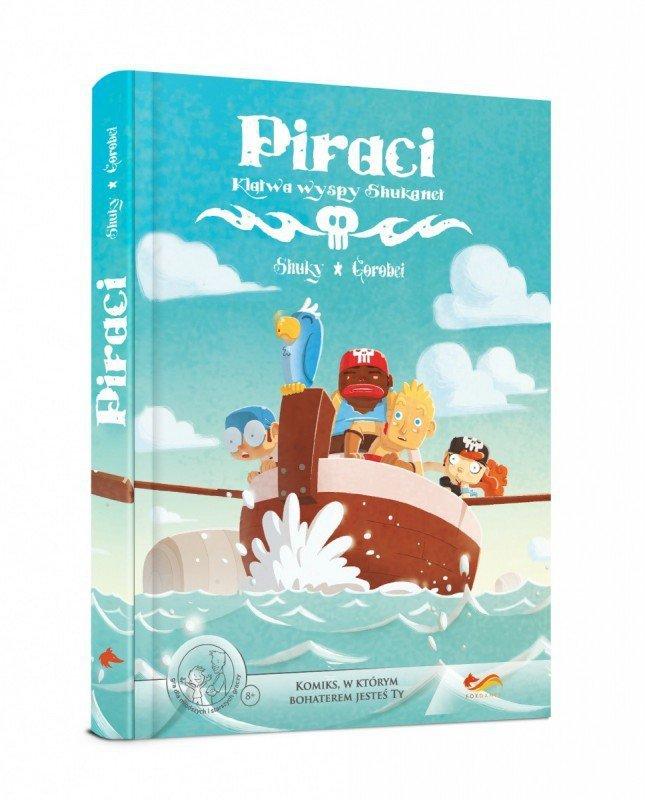 Gra Komiks Paragrafowy: Piraci. Klątwa wyspy Shukanet