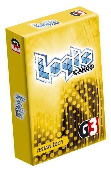 Gra Logic Cards - Zestaw żółty (PL)