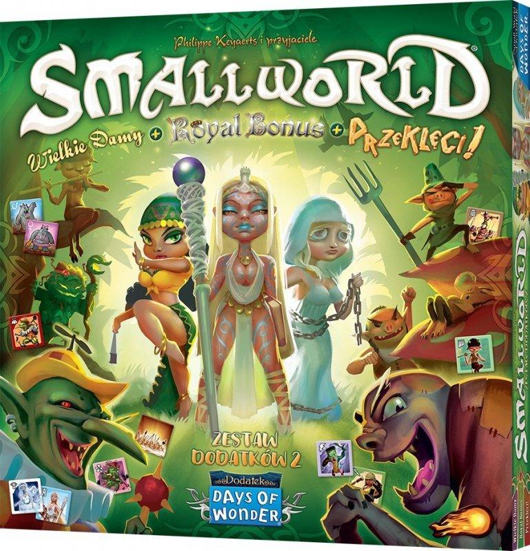 Rebel Gra Small World: Zestaw dodatków 2 - Wielkie damy + Royal Bonus + Przeklęci!