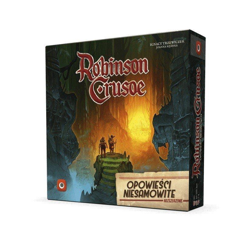 Portal Games Gra Robinson Crusoe: Opowieści Niesamowite - rozszerzenie do gry