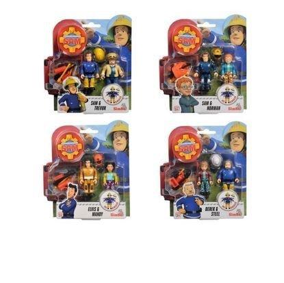 Simba Figurki Strażak Sam, 2 figurki III, 4 rodzaje