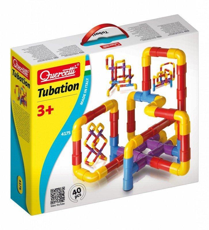 Quercetti Układanka Tubation 40 elementów