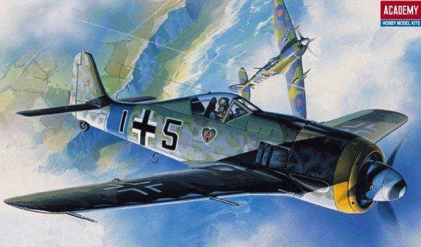 Academy Model do sklejania Focke Wulf FW190 A Butcher