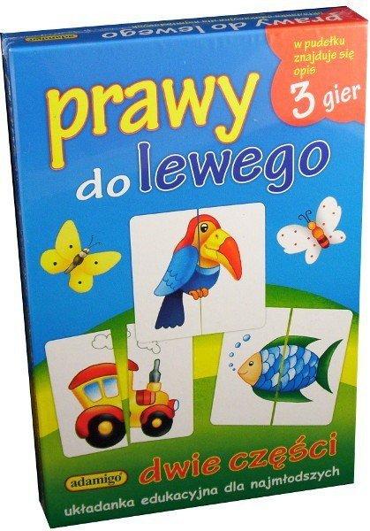 Adamigo Układanka Prawy do Lewego