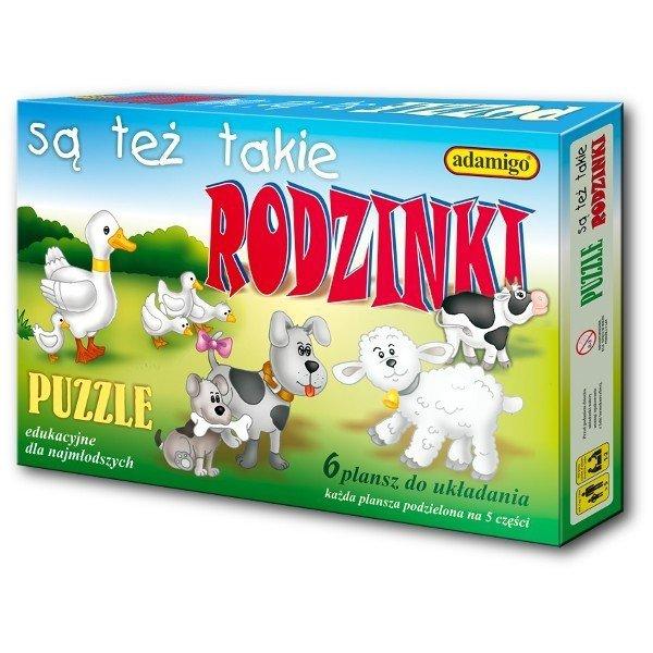 Adamigo Puzzle Są też takie rodzinki
