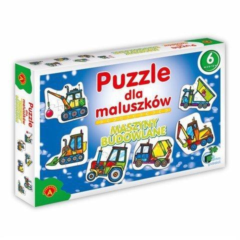 Alexander Puzzle dla Maluszków - Maszyny Budowlane