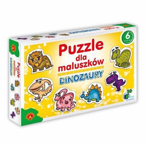 Puzzle dla Maluszków - Dinozaury 27 Elementów
