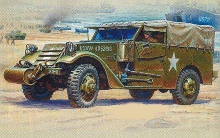 Zvezda M3 Armored Scout Car