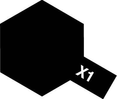 Tamiya Farba Acrylic Mini X-1 Black 10ml