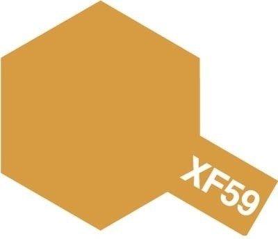 Tamiya Farba Acrylic Mini XF-59 Desert Yellow
