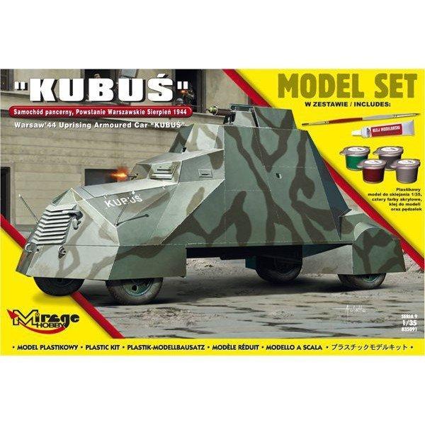 Samochód pancerny 'Kubuś' set
