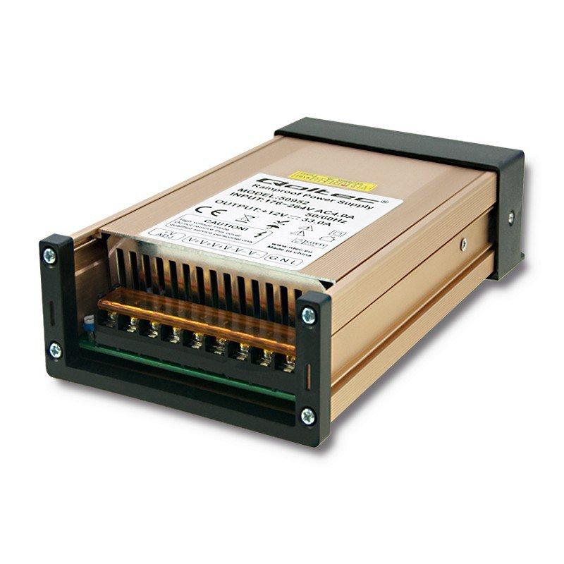 Zasilacz impulsowy LED   IP45   400W   12V   33A   Wodoodporny