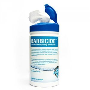 BARBICIDE WIPES Chusteczki do dezynfekcji powierzchni 120 szt.