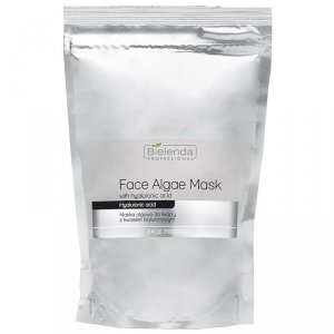BIELENDA Opakowanie uzupełniające - maska algowa z kwasem hialuronowym 190 g