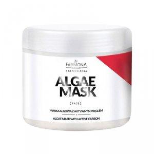 FARMONA Maska algowa z węglem aktywnym 500 ml