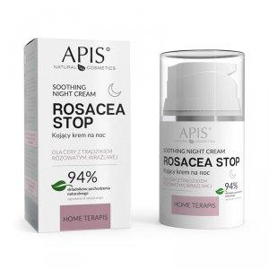 APIS ROSACEA- STOP Home terApis Kojący krem na noc 50 ml
