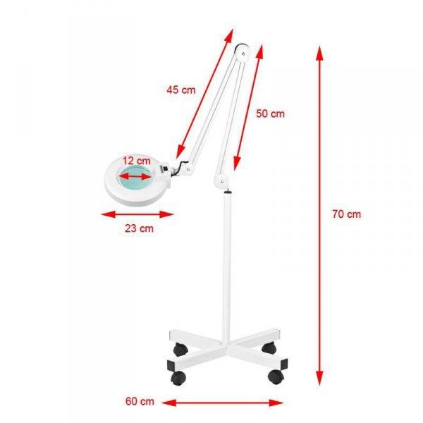 LAMPA LUPA S4 + STATYW