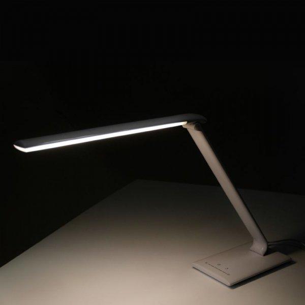 LAMPA LED NA BIURKO ELEGANTE 7W WHITE