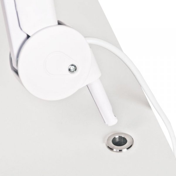 UCHWYT LAMPY-LUPY TUBE INOX