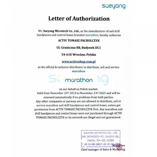 SAEYANG FREZARKA MARATHON ECO 450 + SH37LN