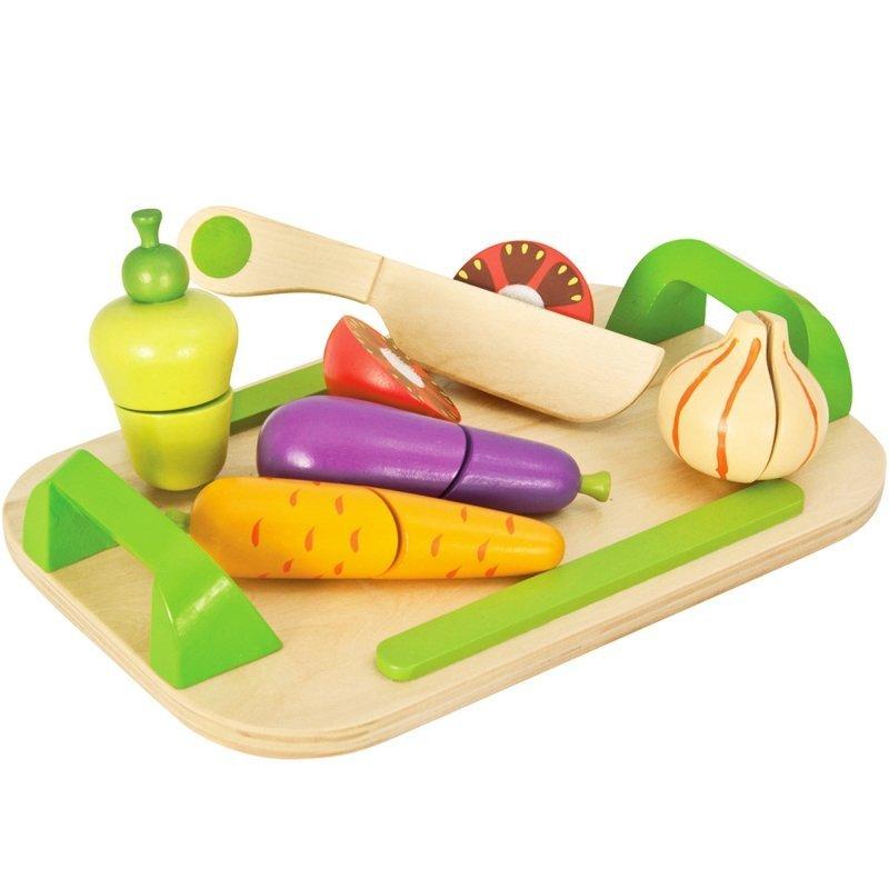 Eichhorn Drewniana Deska z Warzywami Do Krojenia