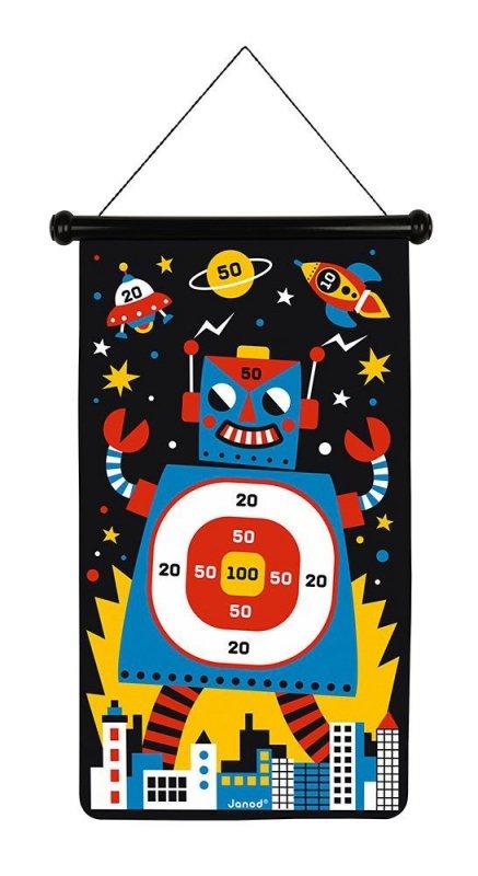 Magnetyczna gra w rzutki Roboty, Janod